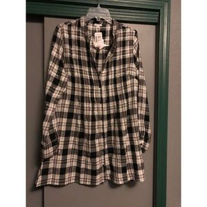 Love Culture Flannel Blouse